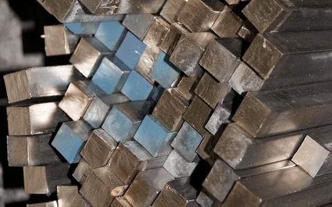 Barres carrées aluminium