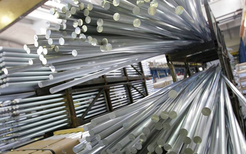 Barres rondes aluminium
